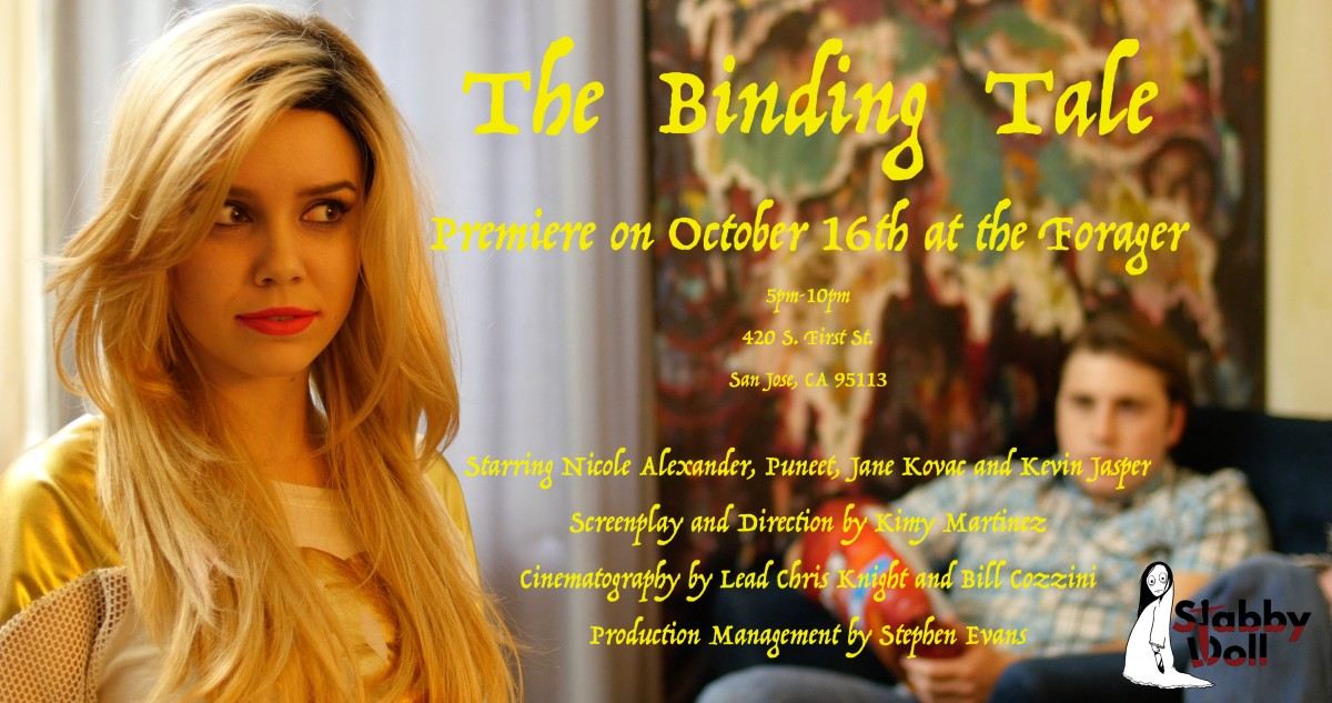 The Binding Tale Premiere Party! Like us on FB and reserve a seat on our FB invite page!