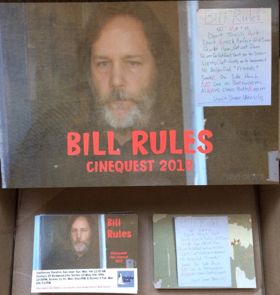 """Bill Rules"" at Cinequest Film Festival 2018"